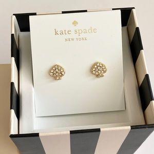 ❤️SALE❤️Kate Spade signature crystal stud earrings